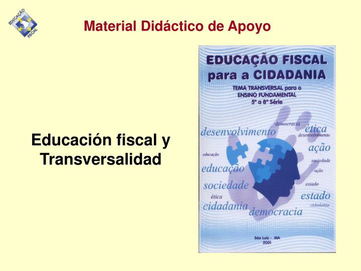 Educación fiscal y Transversalidad