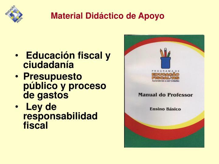 Educación fiscal y ciudadanía