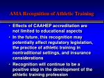 ama recognition of athletic training2