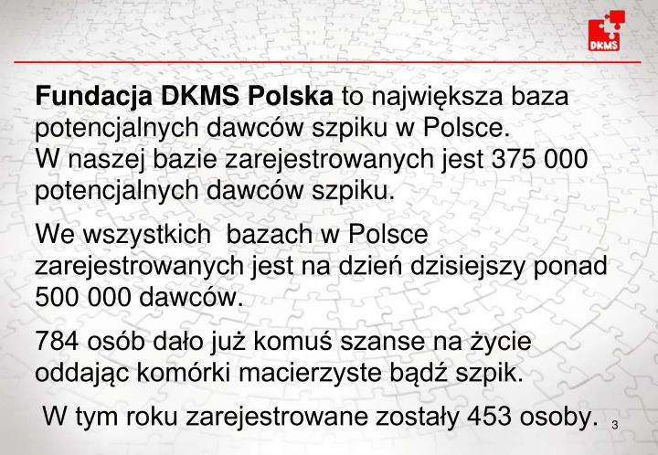 Fundacja DKMS Polska