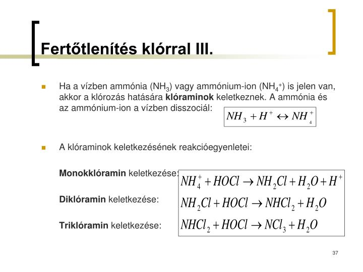 Ferttlents klrral III.