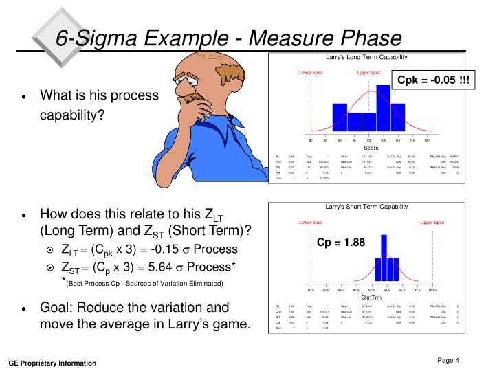 6-Sigma Example - Measure Phase