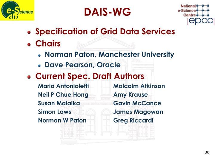 DAIS-WG