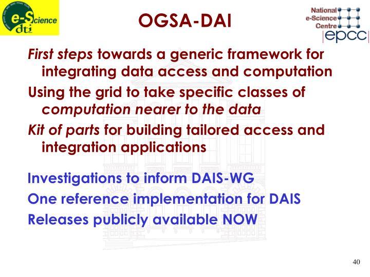 OGSA-DAI