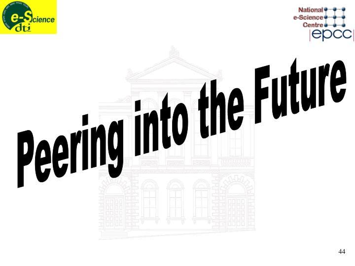 Peering into the Future