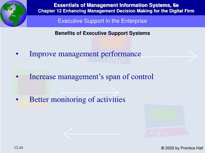 Executive Support in the Enterprise