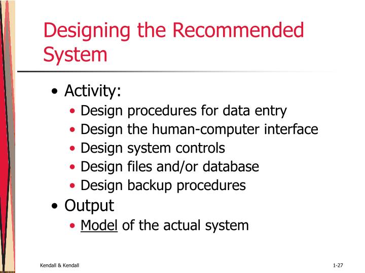 Designing the Recommended System
