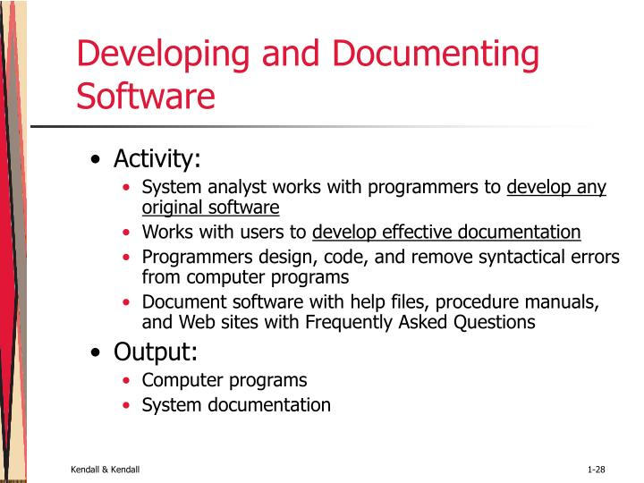 Developing and Documenting Software