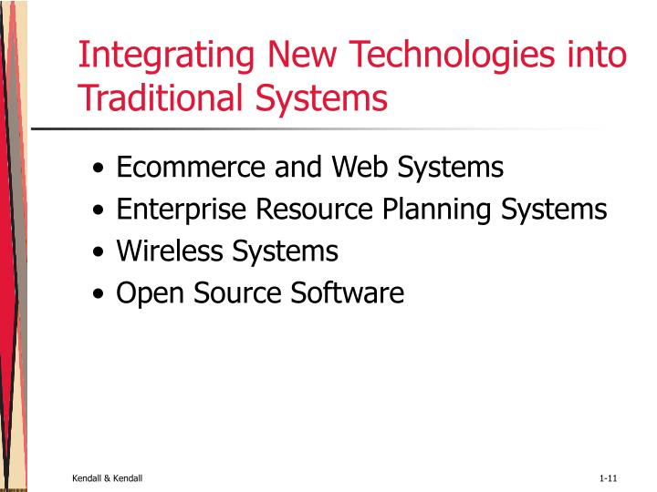 Integrating New Technologies into Traditional Systems