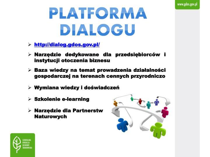 http://dialog.gdos.gov.pl/