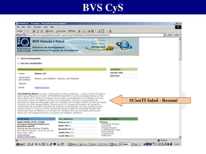 BVS CyS