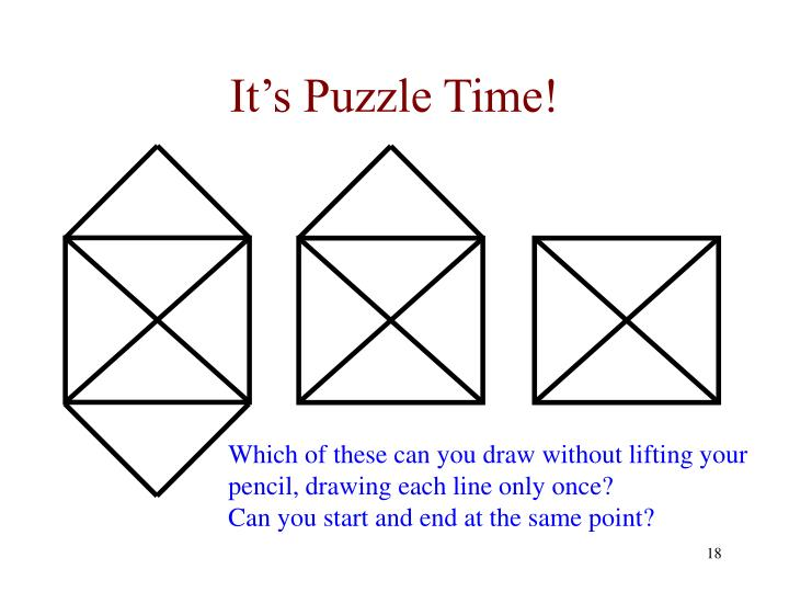 It's Puzzle Time!