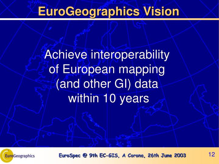 EuroGeographics Vision
