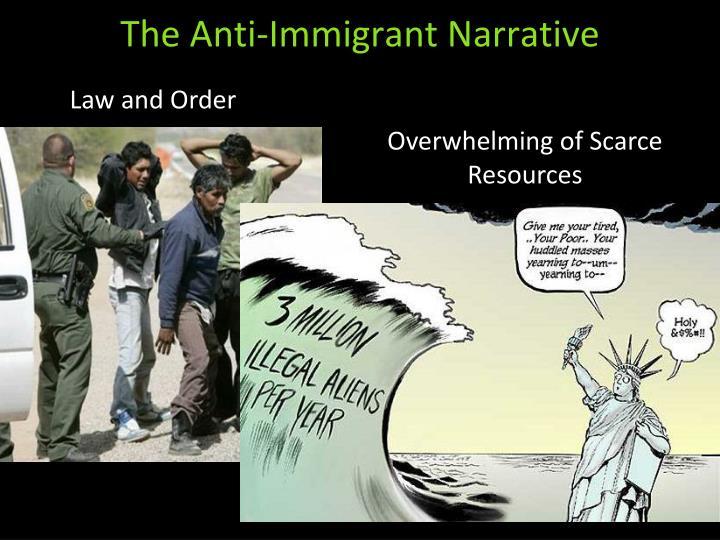 The Anti-Immigrant Narrative