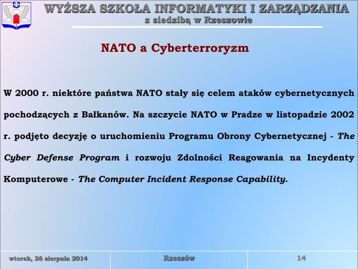 NATO a Cyberterroryzm