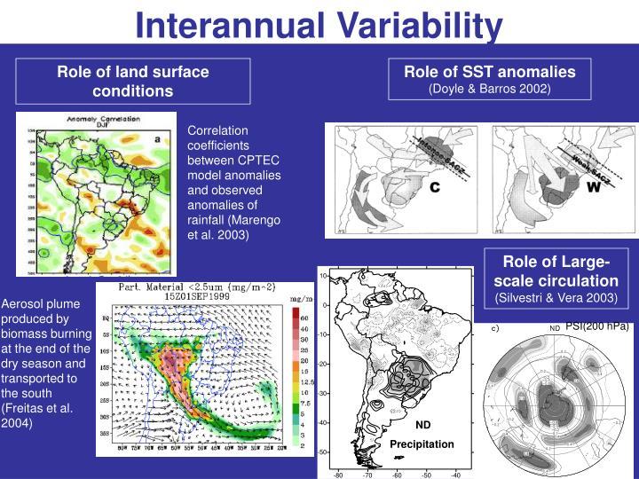 Interannual Variability