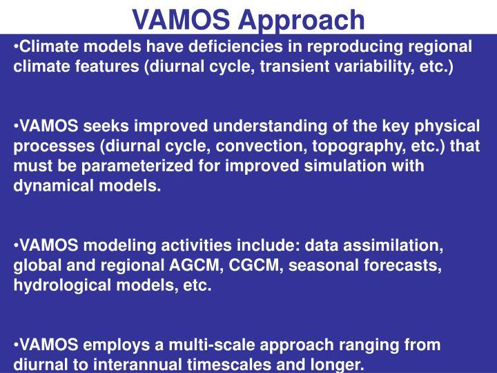 VAMOS Approach