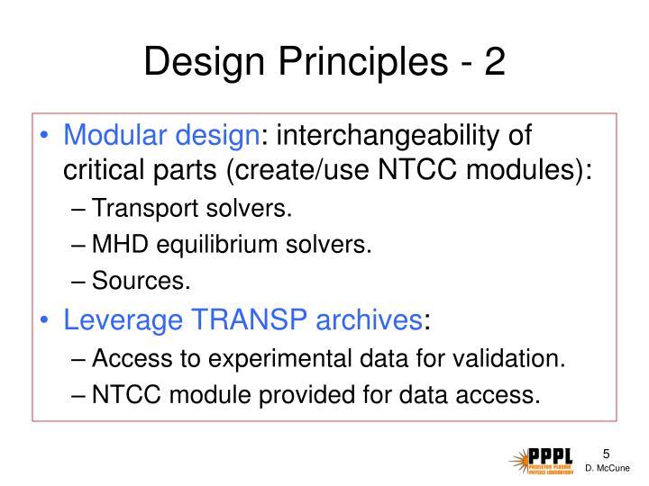 Design Principles - 2