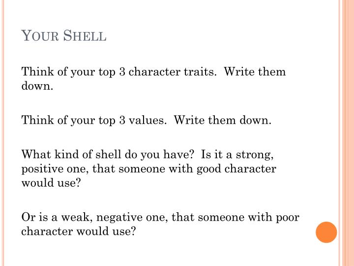 Your Shell