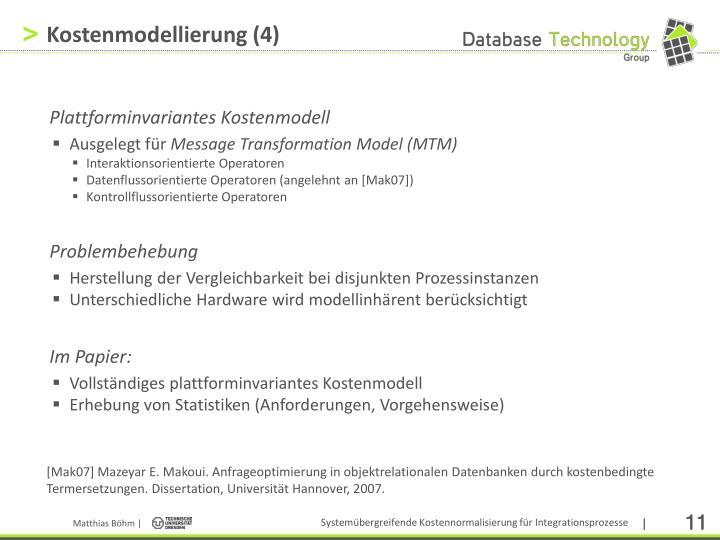 Kostenmodellierung (4)