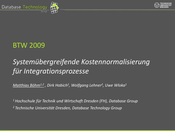 BTW 2009