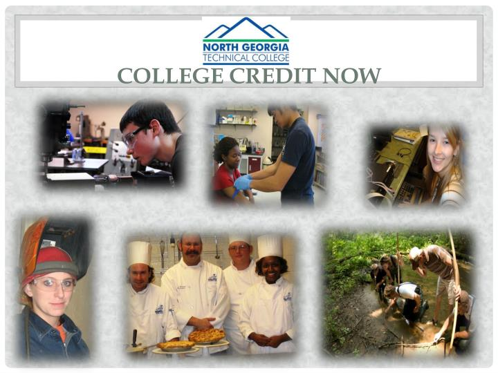 College Credit Now
