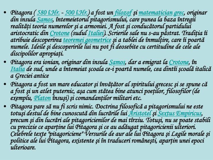 Pitagora (