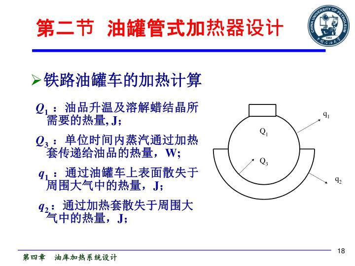 第二节  油罐管式加热器设计