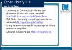 other library 2 0 examples