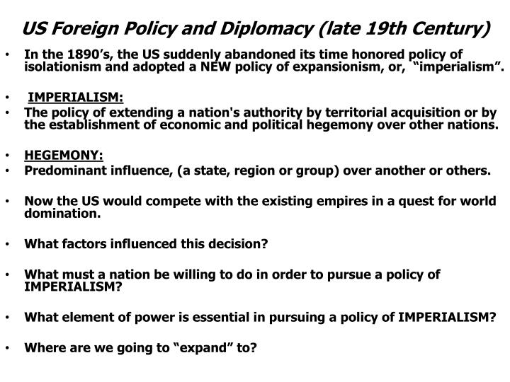 expansionism departure continuation Westward expansion dbq essaysbeginning in the early 1800s the united states began a  a continuation of past united states expansionism, and yet also a departure.