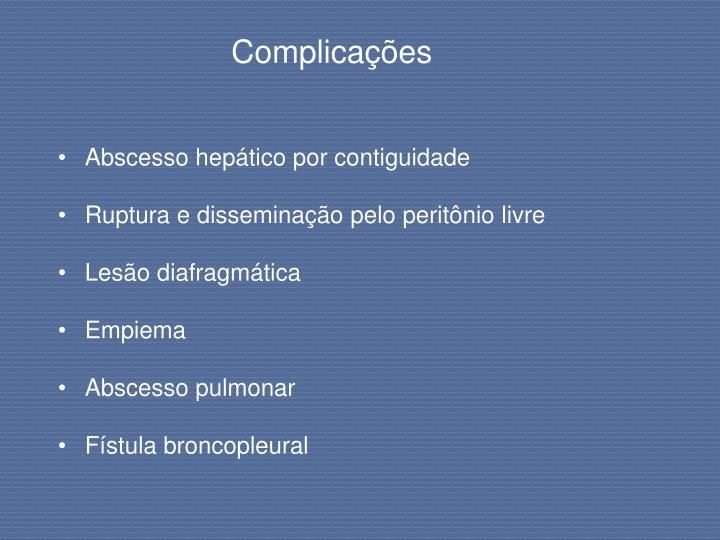 Complicações