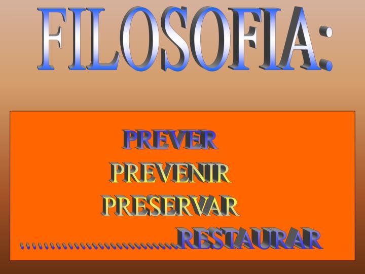 FILOSOFIA: