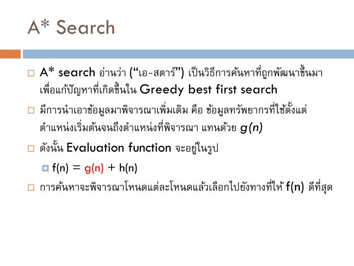 A* Search