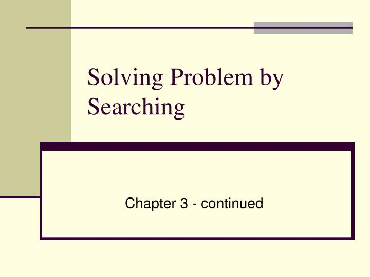 Examples Of Heuristics In Problem Solving