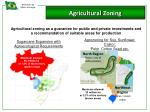 agricultural zoning