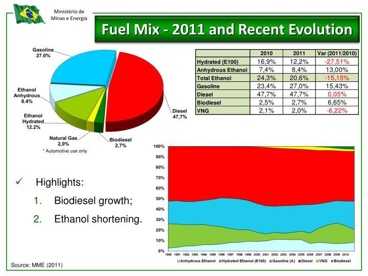 Fuel Mix -