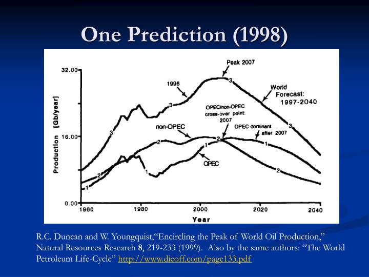 One Prediction (1998)