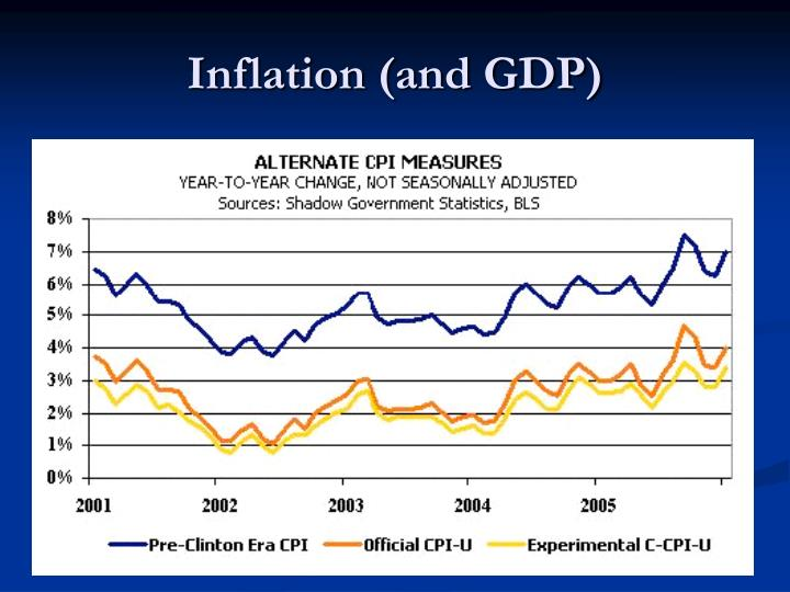 Inflation (and GDP)