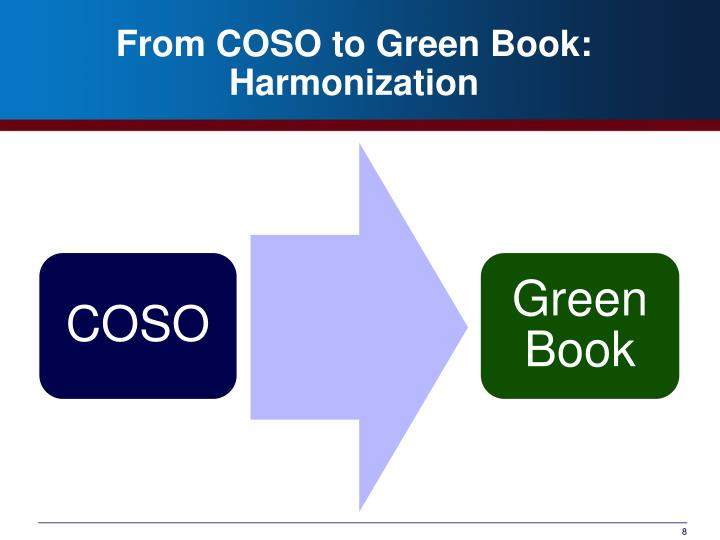 From COSO to Green Book: Harmonization