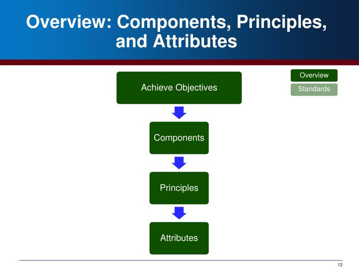 Overview: Components, Principles, and Attributes