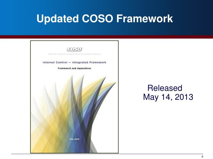 Updated COSO Framework