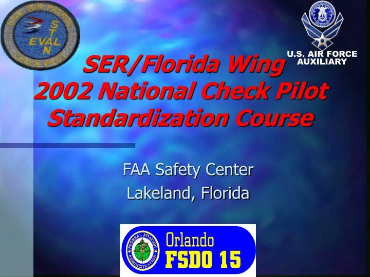 SER/Florida Wing