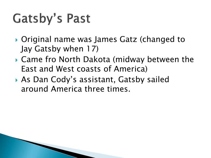 Gatsby's Past