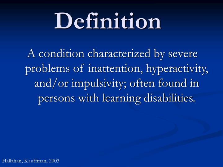 Definition