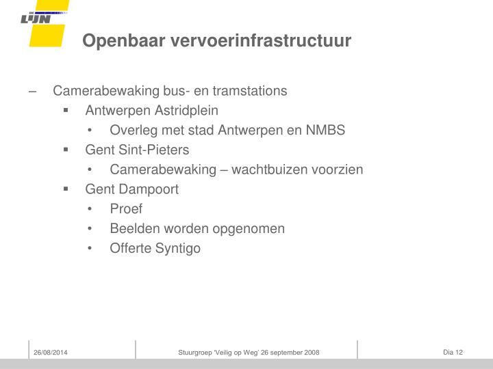 Openbaar vervoerinfrastructuur
