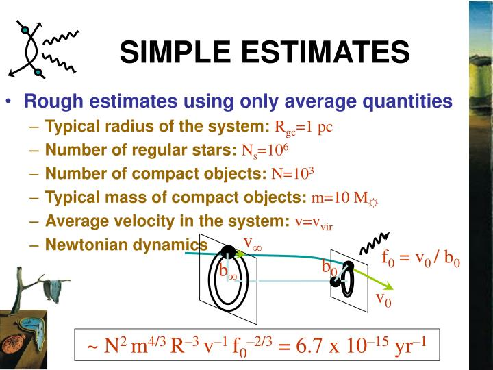 SIMPLE ESTIMATES