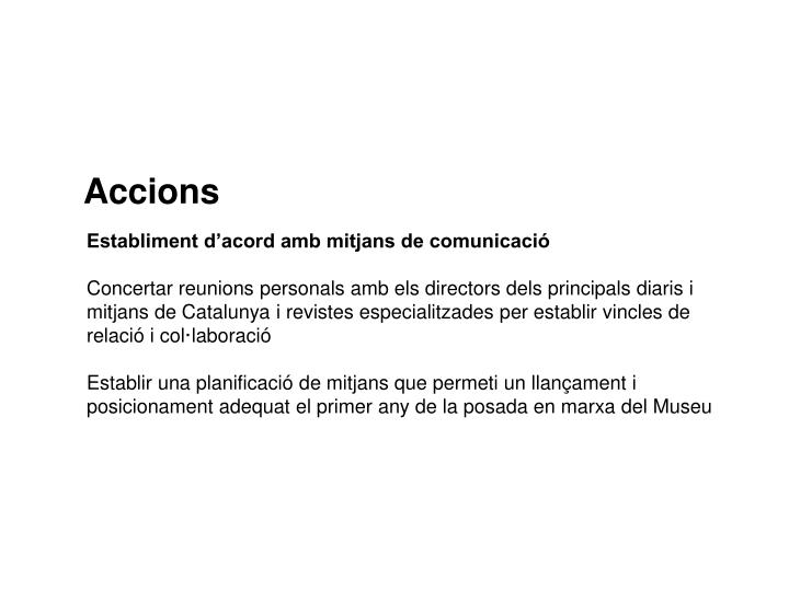 Accions