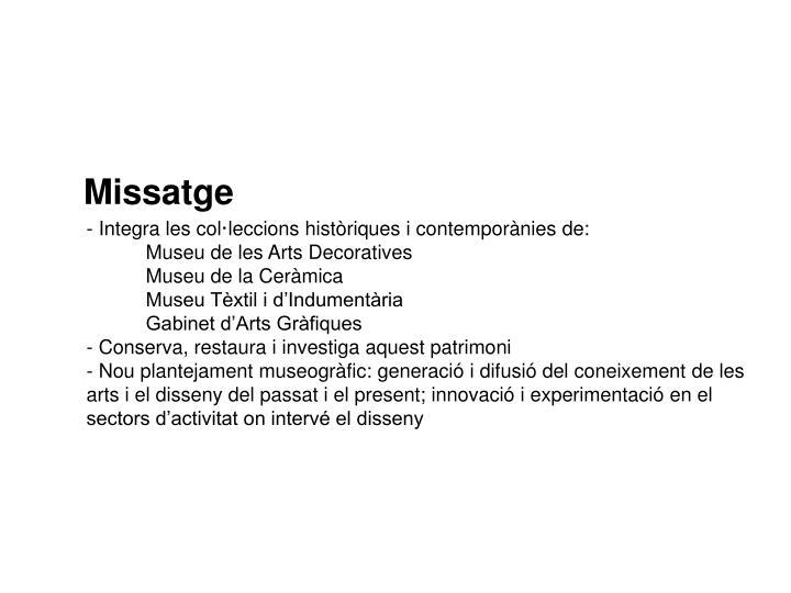 Missatge