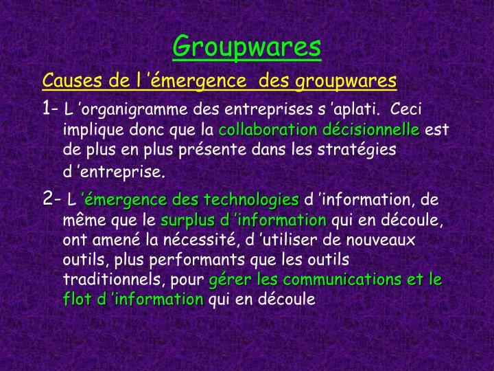 Groupwares