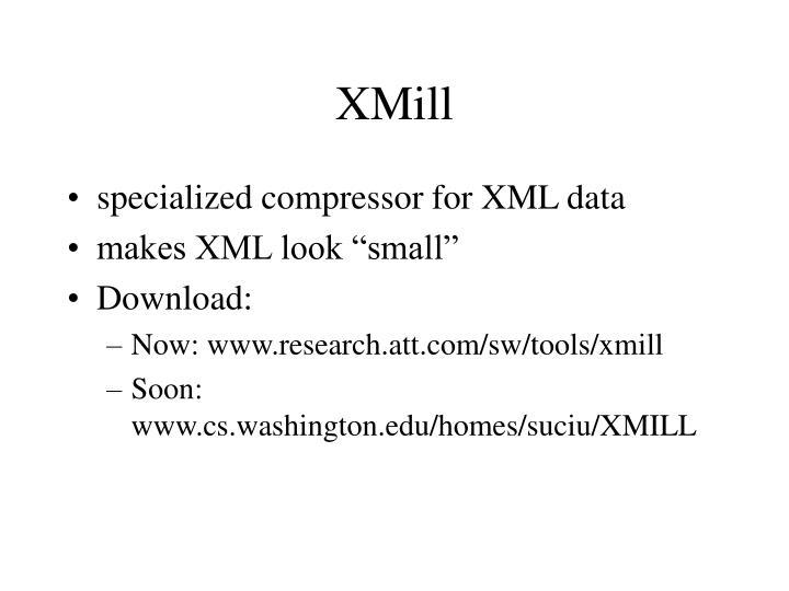XMill